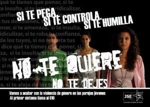 cartel jse violencia genero 2010 300x214 Campaña de JSE contra la violencia de género en las parejas jóvenes.